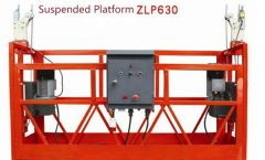 10M Powered Aluminium Rope Suspended Platform ZLP1000 Enfas 2 * 2,2kw